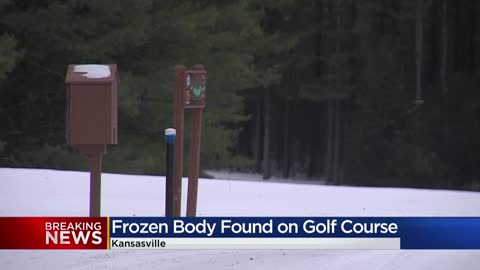 Frozen body found on Kenosha County golf course